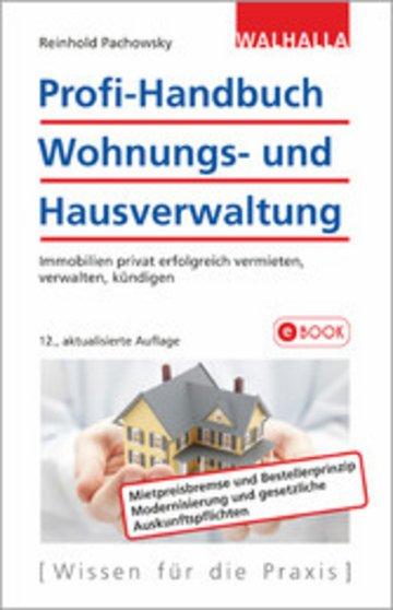 eBook Profi-Handbuch Wohnungs- und Hausverwaltung Cover