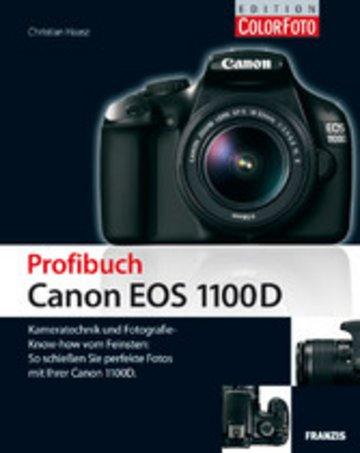 eBook Profibuch Canon EOS 1100D Cover