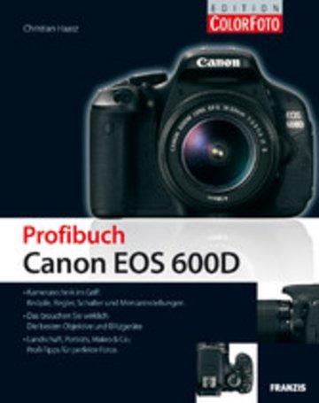 eBook Profibuch Canon EOS 600D Cover