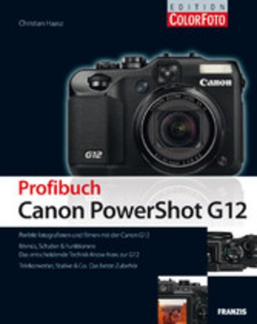 eBook Profibuch Canon PowerShot G12 Cover