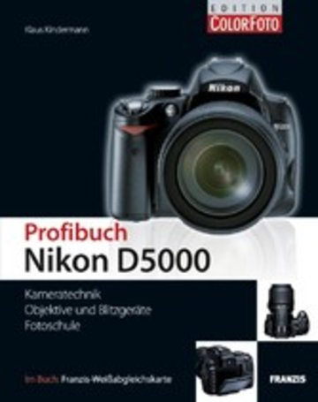 eBook Profibuch Nikon D5000 Cover