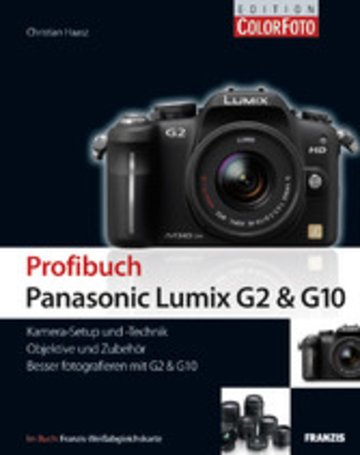 eBook Profibuch Panasonic Lumix G2 & G10 Cover