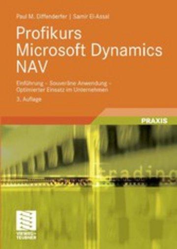 eBook Profikurs Microsoft Dynamics NAV Cover
