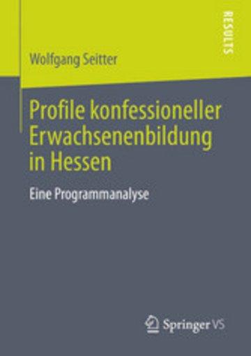 eBook Profile konfessioneller Erwachsenenbildung in Hessen Cover