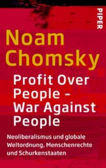 eBook Profit Over People - War Against People Cover