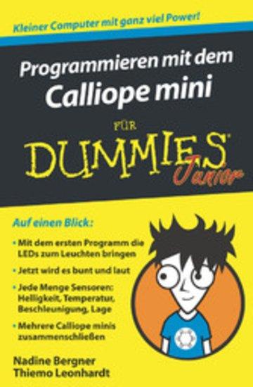 eBook Programmieren mit dem Calliope mini für Dummies Junior Cover