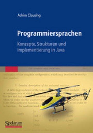 eBook Programmiersprachen – Konzepte, Strukturen und Implementierung in Java Cover