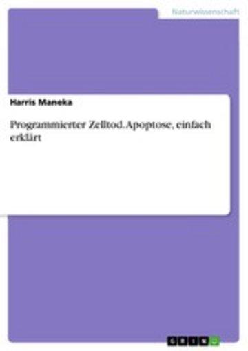 eBook Programmierter Zelltod. Apoptose, einfach erklärt Cover