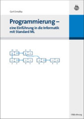 eBook Programmierung - eine Einführung in die Informatik mit Standard ML Cover