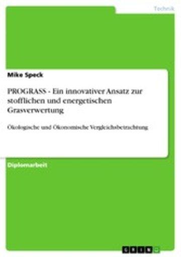 eBook PROGRASS - Ein innovativer Ansatz zur stofflichen und energetischen Grasverwertung Cover