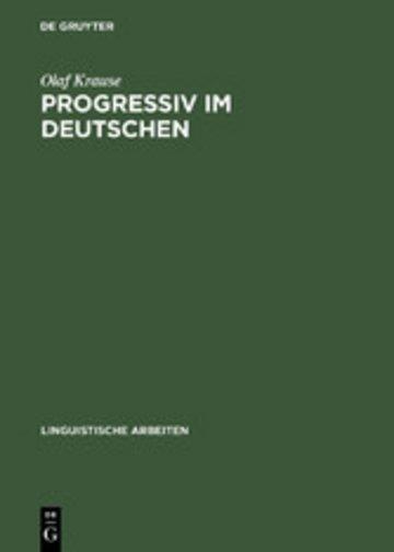 eBook Progressiv im Deutschen Cover