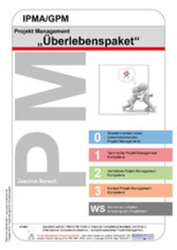 eBook Projekt Management IPMA/GPM Überlebenspaket Cover
