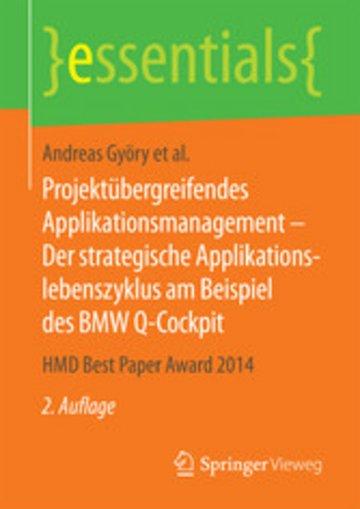 eBook Projektübergreifendes Applikationsmanagement - Der strategische Applikationslebenszyklus am Beispiel des BMW Q-Cockpit Cover