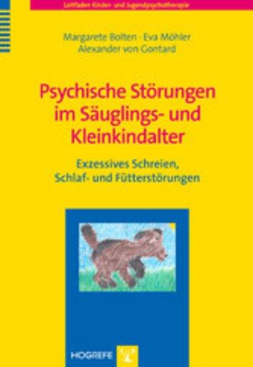 eBook Psychische Störungen im Säuglings- und Kleinkindalter Cover