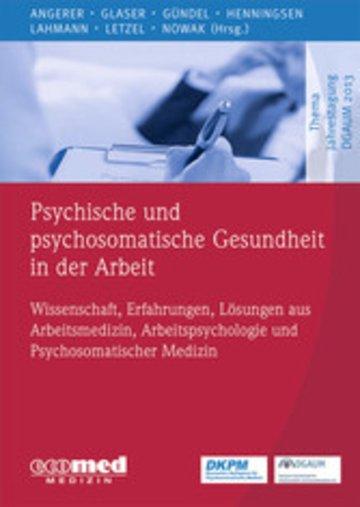 eBook Psychische und psychosomatische Gesundheit in der Arbeit Cover