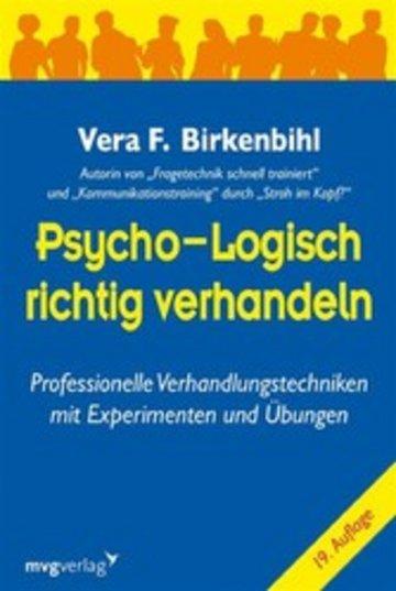 eBook Psycho-logisch richtig verhandeln Cover