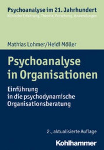 eBook Psychoanalyse in Organisationen Cover