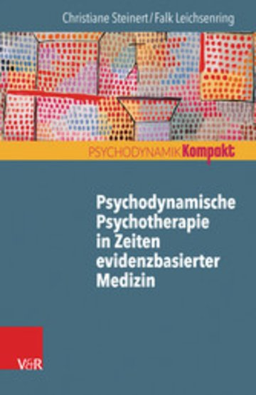 eBook Psychodynamische Psychotherapie in Zeiten evidenzbasierter Medizin Cover