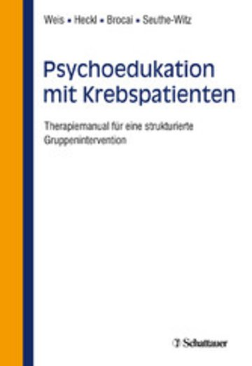 eBook Psychoedukation mit Krebspatienten Cover