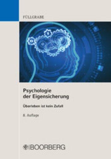 eBook Psychologie der Eigensicherung Cover