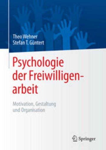 eBook Psychologie der Freiwilligenarbeit Cover