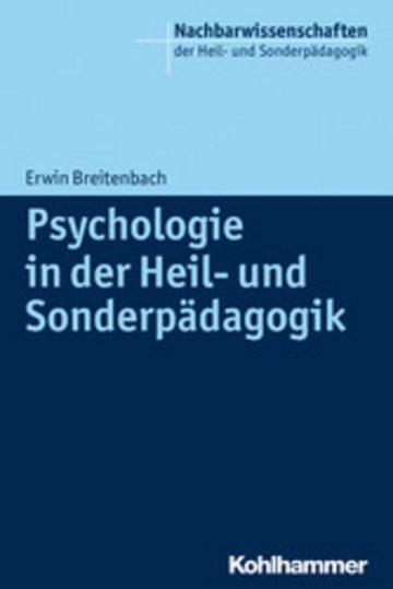 eBook Psychologie in der Heil- und Sonderpädagogik Cover