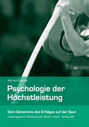 eBook Psychologie der Höchstleistung Cover