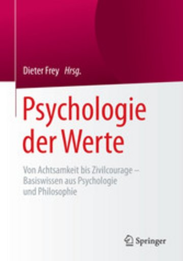 eBook Psychologie der Werte Cover