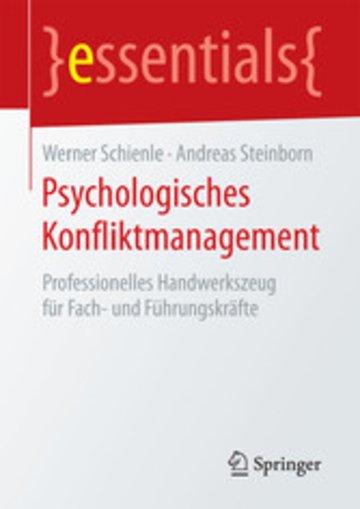 eBook Psychologisches Konfliktmanagement Cover