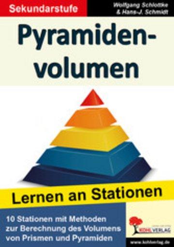 eBook Pyramidenvolumen Cover