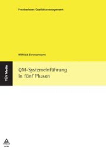 eBook QM-Systemeinführung in fünf Phasen Cover