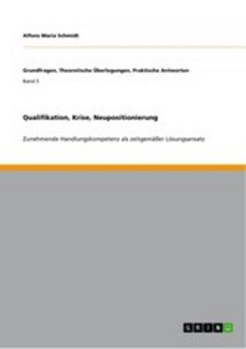 eBook Qualifikation, Krise, Neupositionierung Cover
