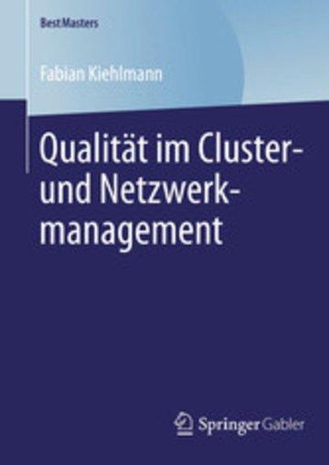 eBook Qualität im Cluster- und Netzwerkmanagement Cover