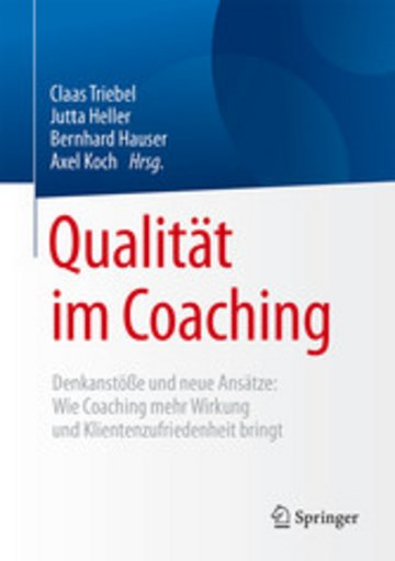 eBook Qualität im Coaching Cover