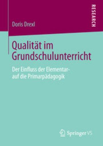 eBook Qualität im Grundschulunterricht Cover