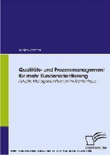 eBook Qualitäts- und Prozessmanagement für mehr Kundenorientierung Cover