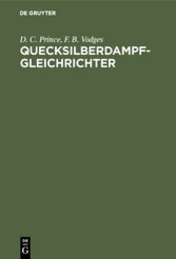 eBook Quecksilberdampf-Gleichrichter Cover