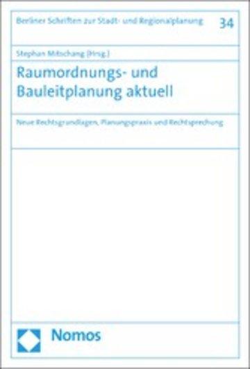 eBook Raumordnungs- und Bauleitplanung aktuell Cover