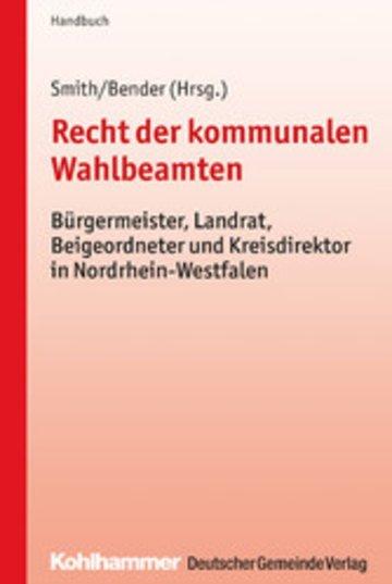 eBook Recht der kommunalen Wahlbeamten Cover