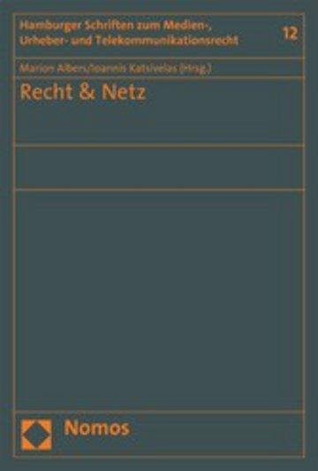 eBook Recht & Netz Cover