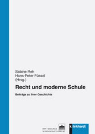 eBook Recht und moderne Schule Cover