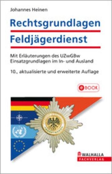 eBook Rechtsgrundlagen Feldjägerdienst Cover