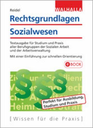 eBook Rechtsgrundlagen Sozialwesen Cover