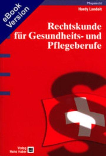 eBook Rechtskunde für Gesundheits- und Pflegeberufe Cover