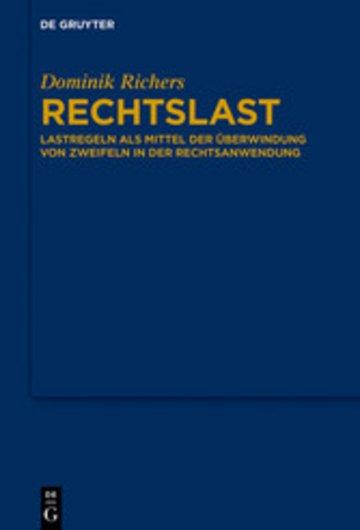 eBook Rechtslast Cover