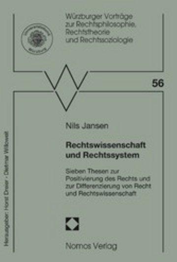 eBook Rechtswissenschaft und Rechtssystem Cover