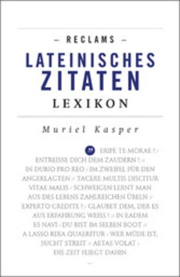 eBook Reclams Lateinisches Zitaten-Lexikon Cover