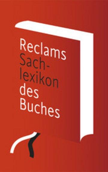 eBook Reclams Sachlexikon des Buches Cover