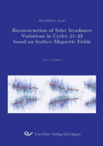 eBook Reconstruction of Solar Irradiance Variations in Cycles 21-23 based on Surface Magnetic Fields Cover