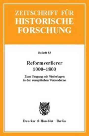 eBook Reformverlierer 1000-1800. Cover